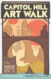 Capitol Hill Artwalk Poster